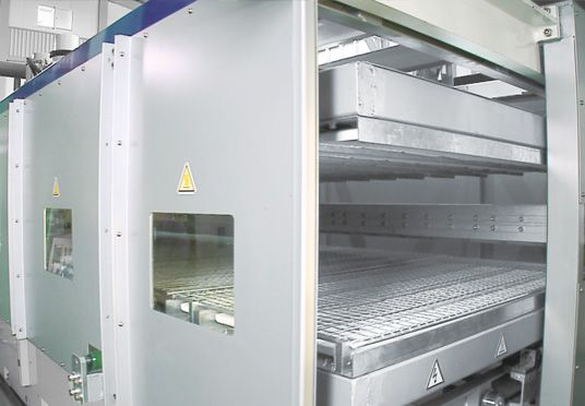Long Heating Oven With Segments (Optional)